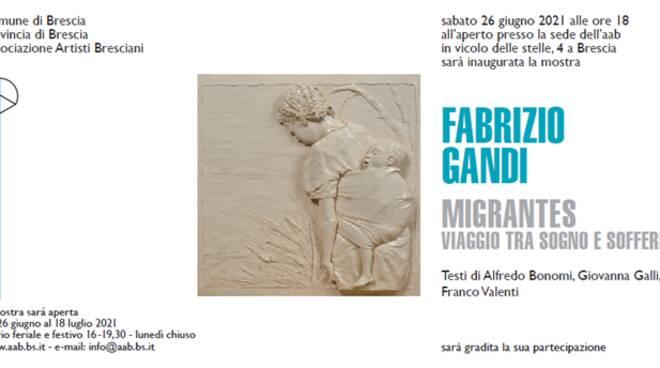 """Tra sogno e sofferenza"""", da sabato la mostra di Fabrizio Gandi"""