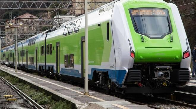 Trenord treno Caravaggio