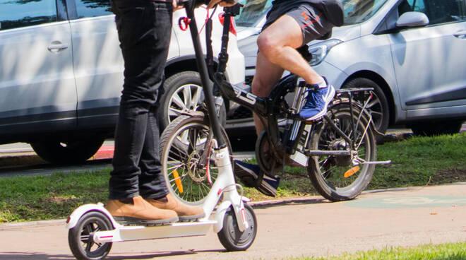 bici e monopattini