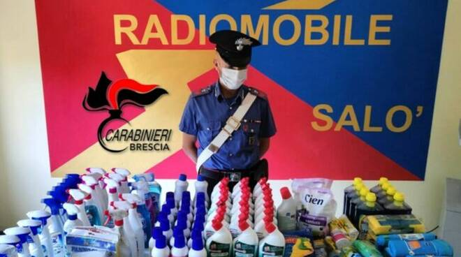 carabinieri detergenti
