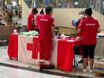 Croce Rossa raccolta alimentare centro commerciale Il Leone Lonato