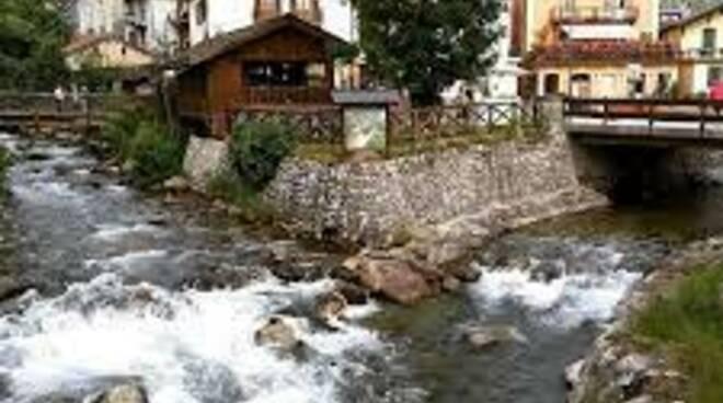 Ponte di Legno Fiume Oglio nasce qui