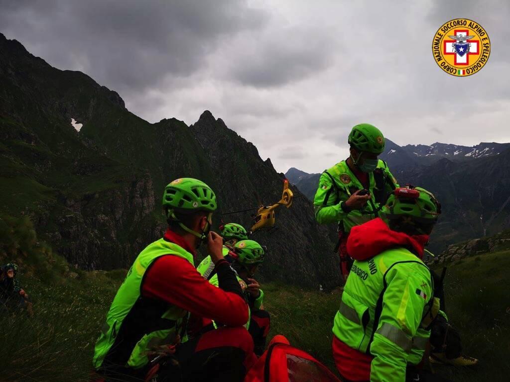 soccorso alpino Valbondione