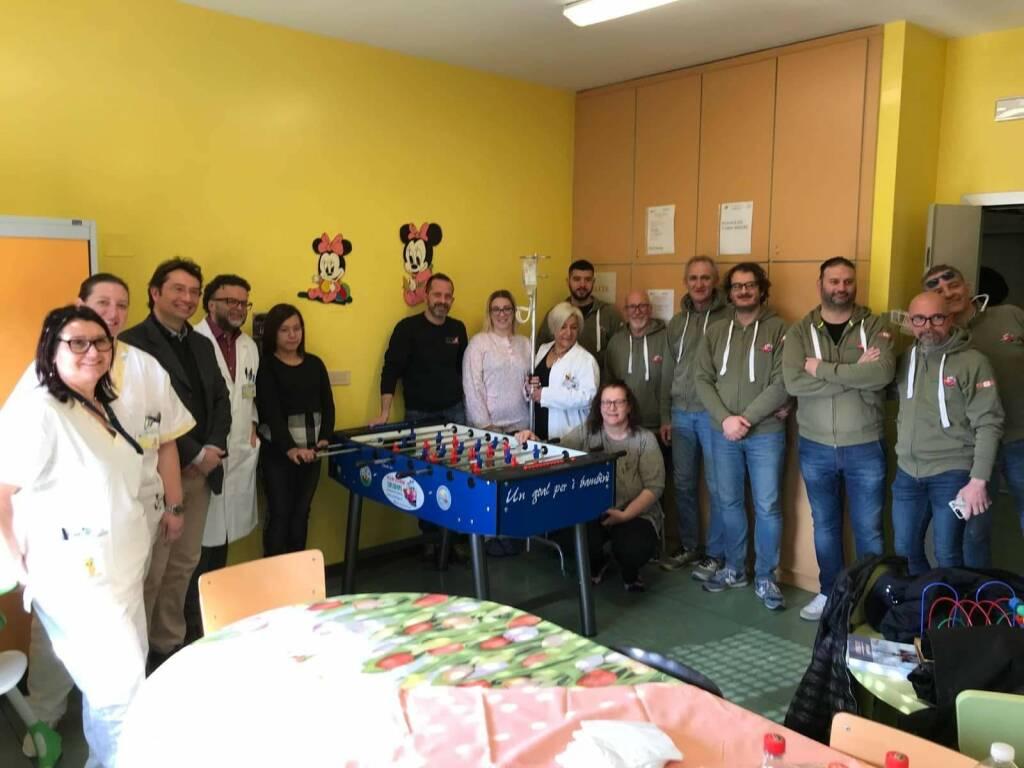 Solidape calci balilla pediatria Gavardo Desenzano