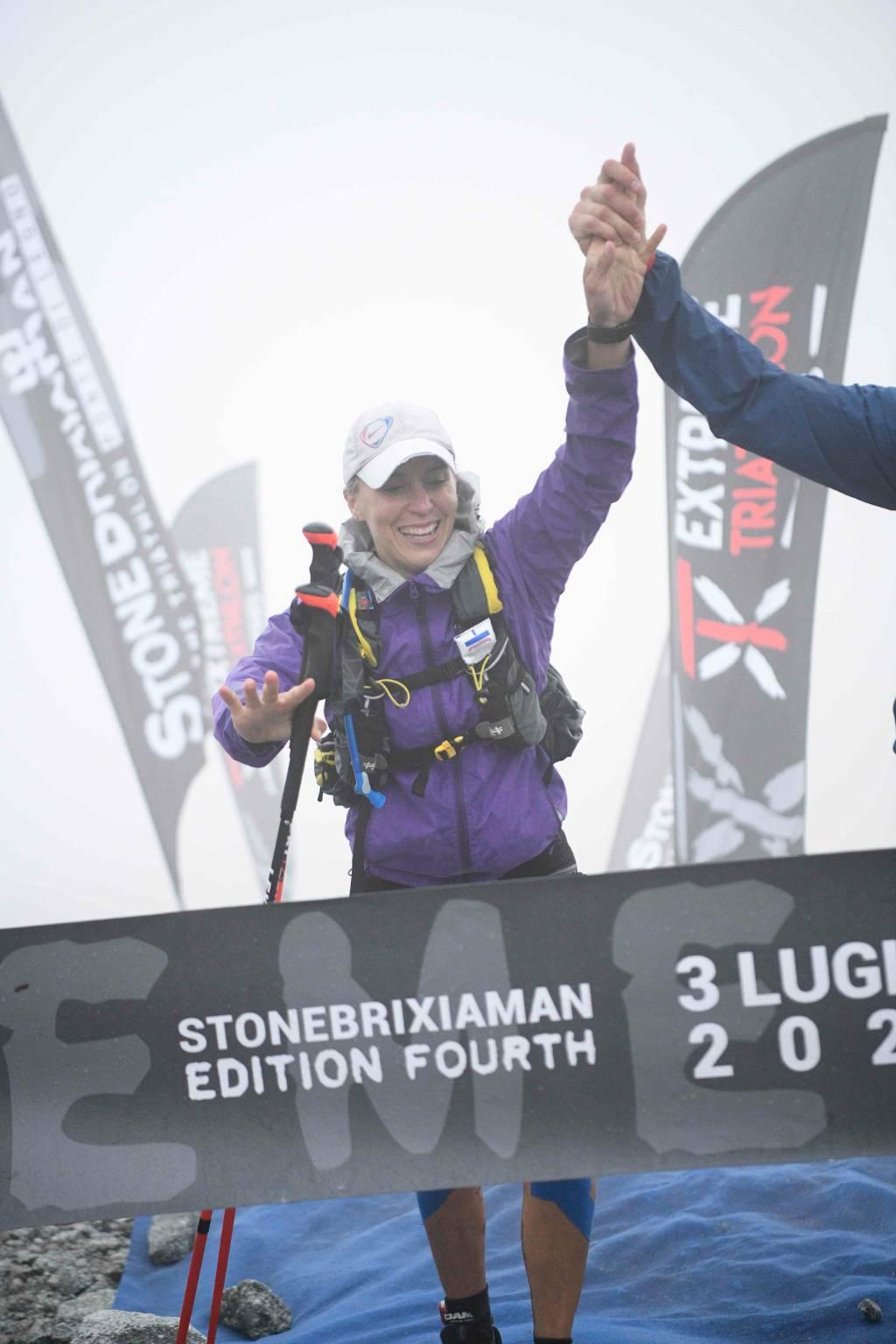 StoneBrixiaMan triathlon Sara Tanghetti