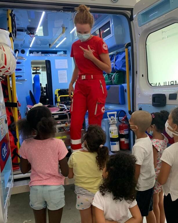 croce rossa bambini