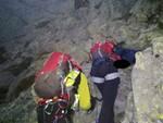 soccorso alpino  ferrata corno grevo valsaviore