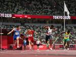 Lorenzo Patta, Marcell Jacobs, Fausto Desalu, Filippo Tortu staffetta olimpiadi