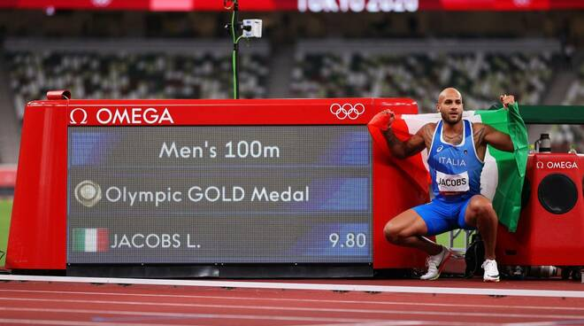 Marcell Jacobs tokyo olimpiadi