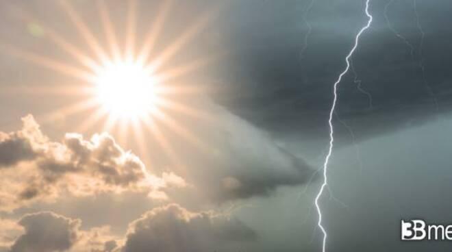 meteo nuvole e sole