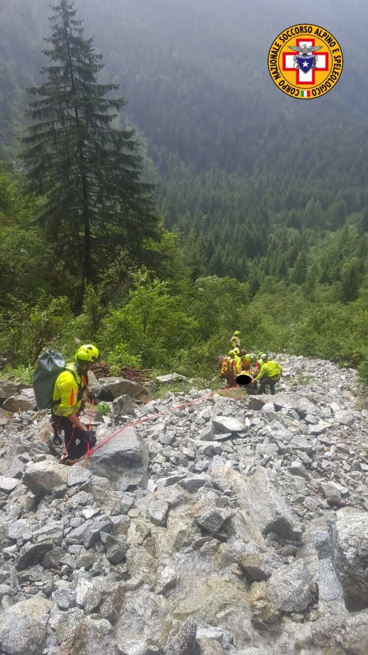 soccorso alpino Cnsas Vezza d'Oglio Aviolo