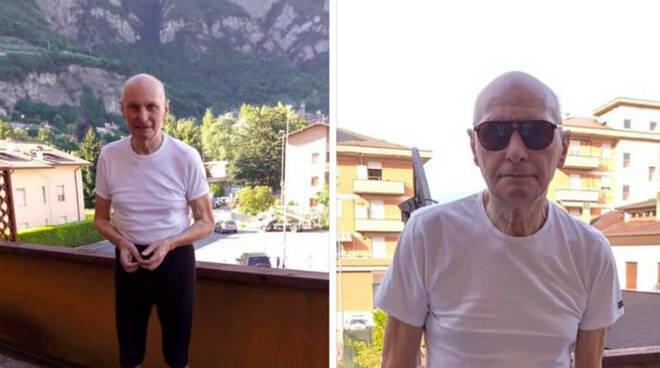 valerio agosta anziano scomparso