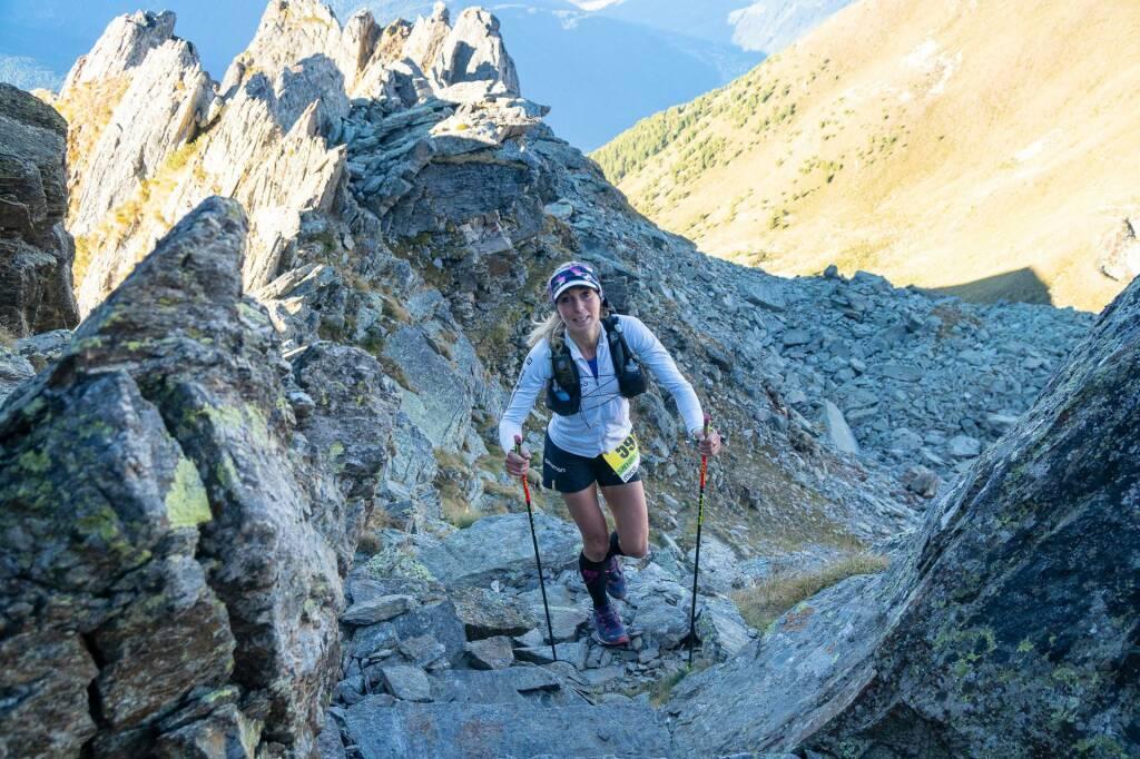 Adamello Ultra Trail Eva Sperger  foto Giacomo Meneghello