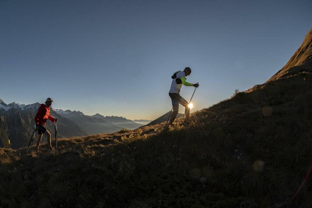 Adamello Ultra Trail Jimmy Pellegrini e Andrea Macchi (foto Mariotti)