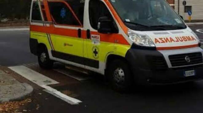 ambulanza croce azzurra Travagliato