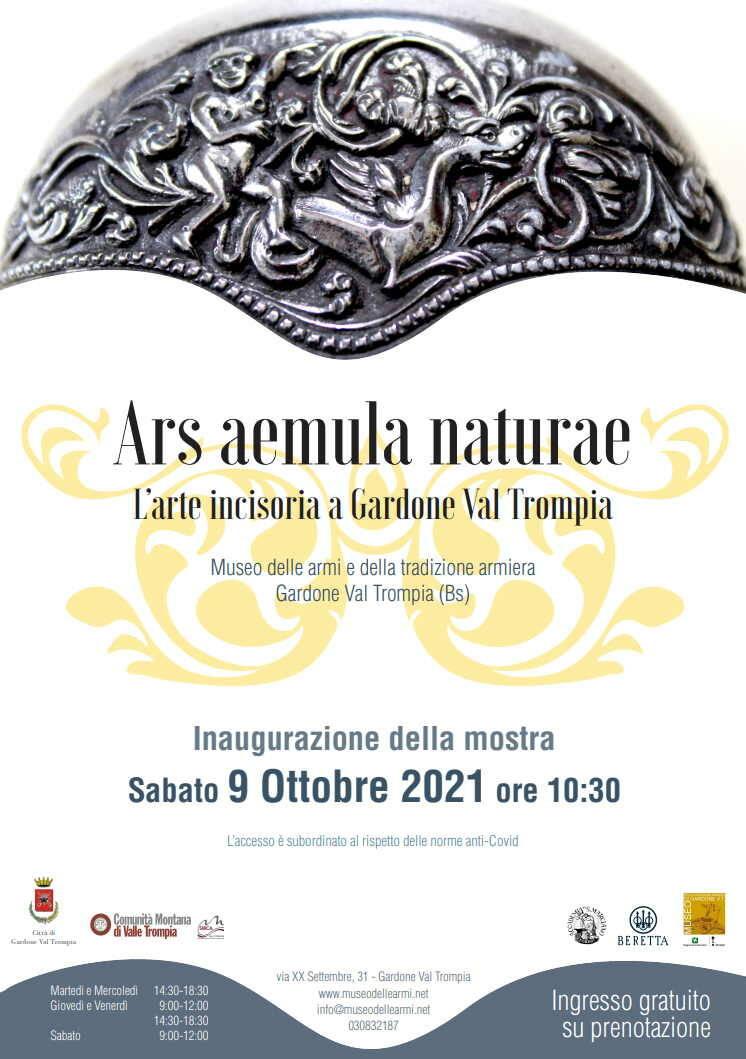 """Ars aemula naturae. L'arte incisoria a Gardone Val Trompia"""