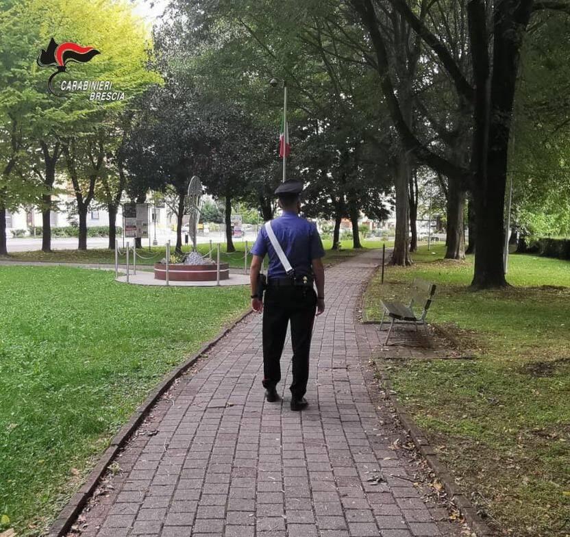 carabinieri nuove cantiere sequestrato