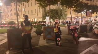 controllo sulla movida della polizia locale di Brescia