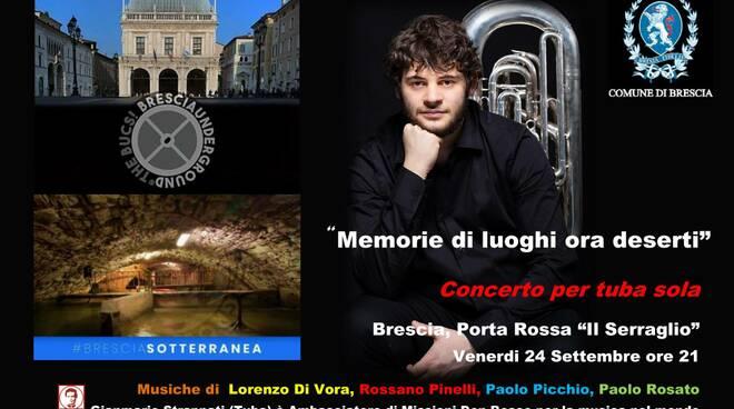 Gianmario Strappati suona per Brescia Underground