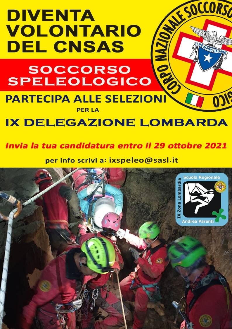 La IX Delegazione Speleologica Lombarda