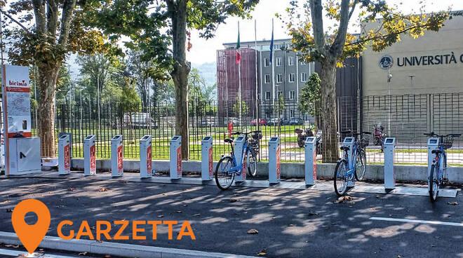 Nuove postazioni Bicimia a Brescia