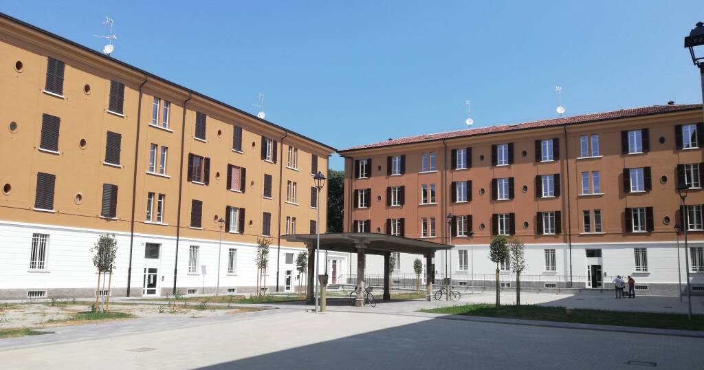 palazzina quartiere mazzucchelli a Brescia