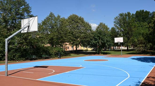 Piastra basket via della ziziola