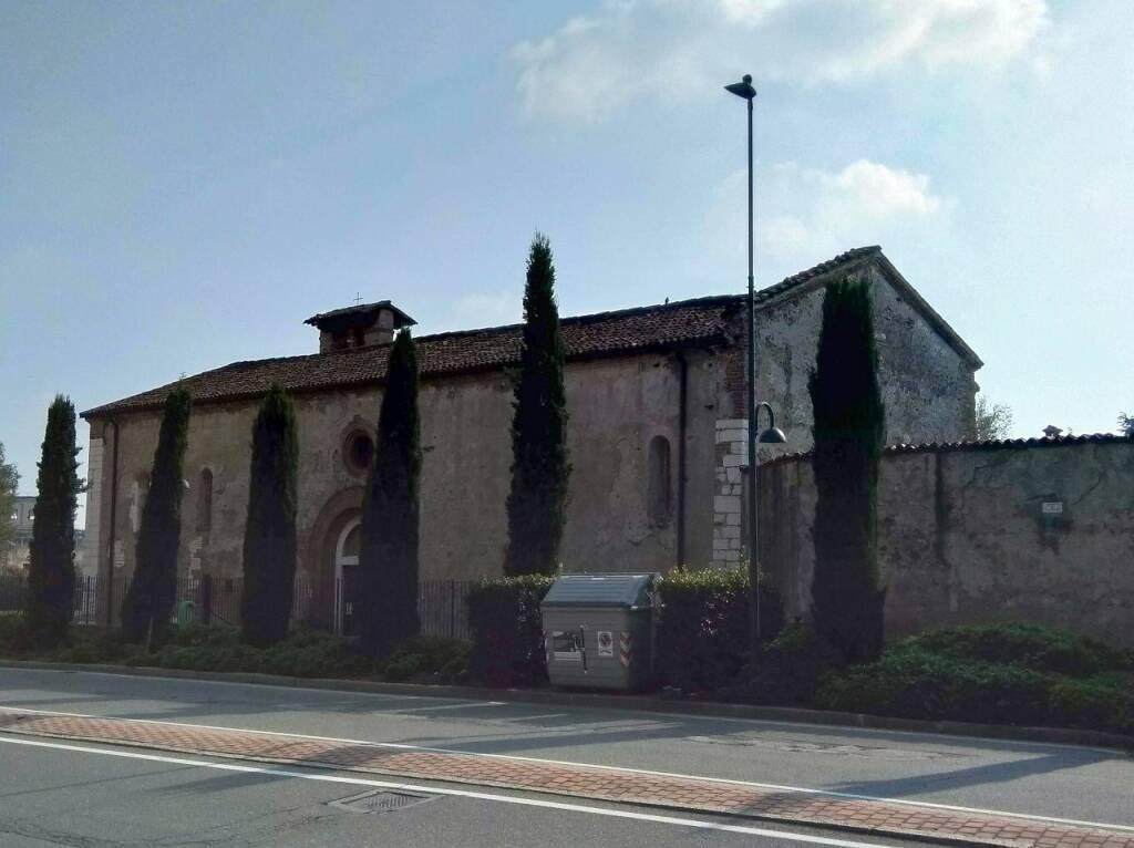 Brescia Chiesa San Giacomo al Mella via Milano