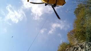 Cnsas Soccorso Alpino elicottero elisoccorso Zone Marone