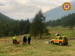 Cnsas soccorso alpino Vezza