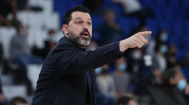 Germani Brescia Basket pallacanestro coach Magro