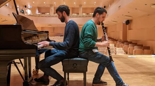 Il clarinettista bresciano Paolo Pellegrini