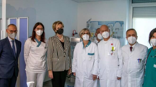 inaugurata la nuova Osservazione Breve Intensiva pediatrica