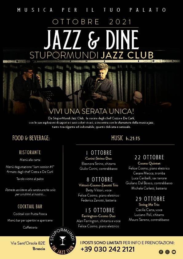 Locandina Jazz Club and Restaurant