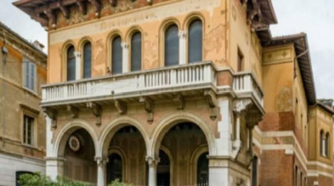 palazzina stacchini ex unicredit piazza sant'alessandro via Cavour Brescia