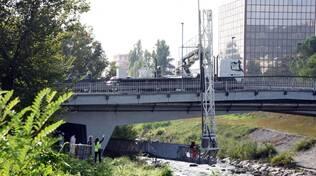 Ponte via Risorgimento fiume Mella Brescia