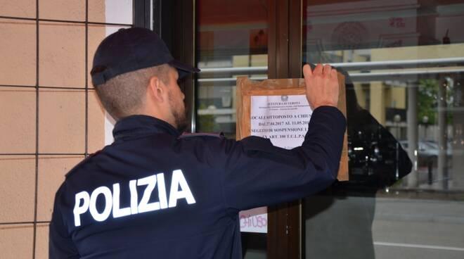 sigilli locale polizia